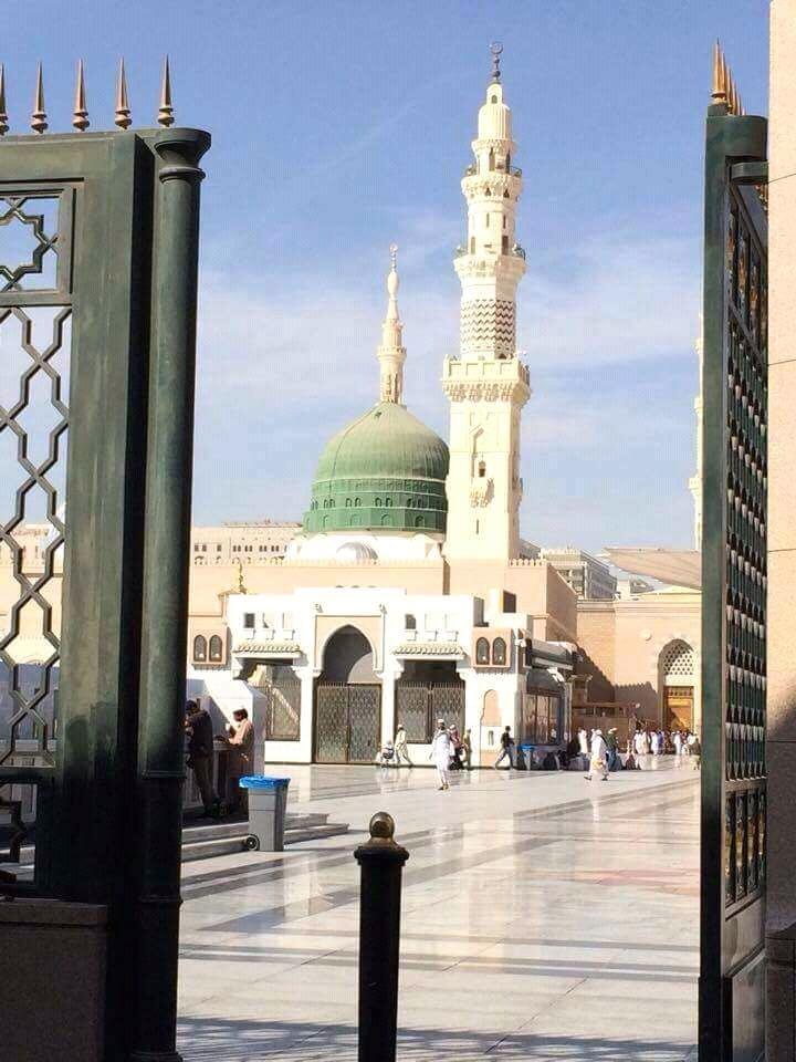 Masjid E Nabvi Pictures | Holy Mosque (Masjid E Nabvi
